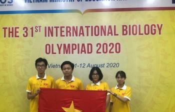 Việt Nam đoạt huy chương vàng Olympic Sinh học quốc tế