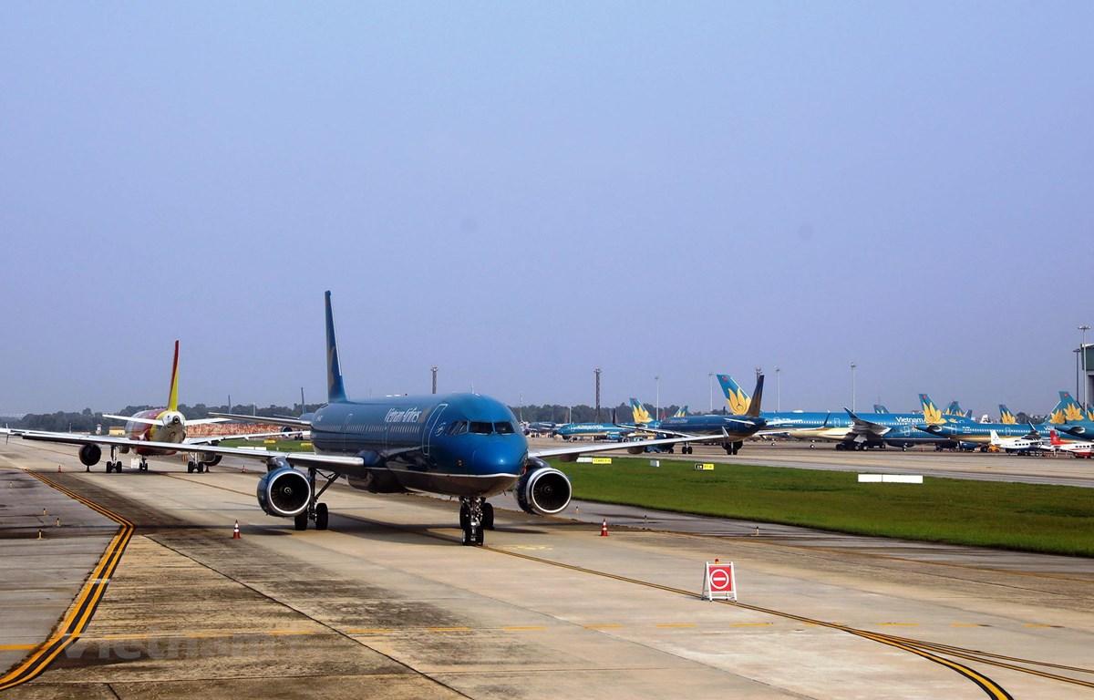 Các hãng hàng không sẽ chuẩn bị nối lại các đường bay quốc tế sau thời gian ảnh hưởng của dịch COVID-19. (Ảnh: CTV/Vietnam+)