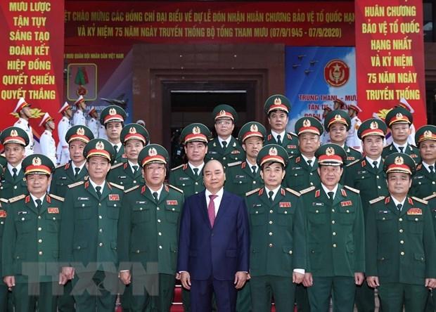 Thủ tướng dự Lễ kỷ niệm 75 năm Ngày truyền thống Bộ Tổng Tham mưu