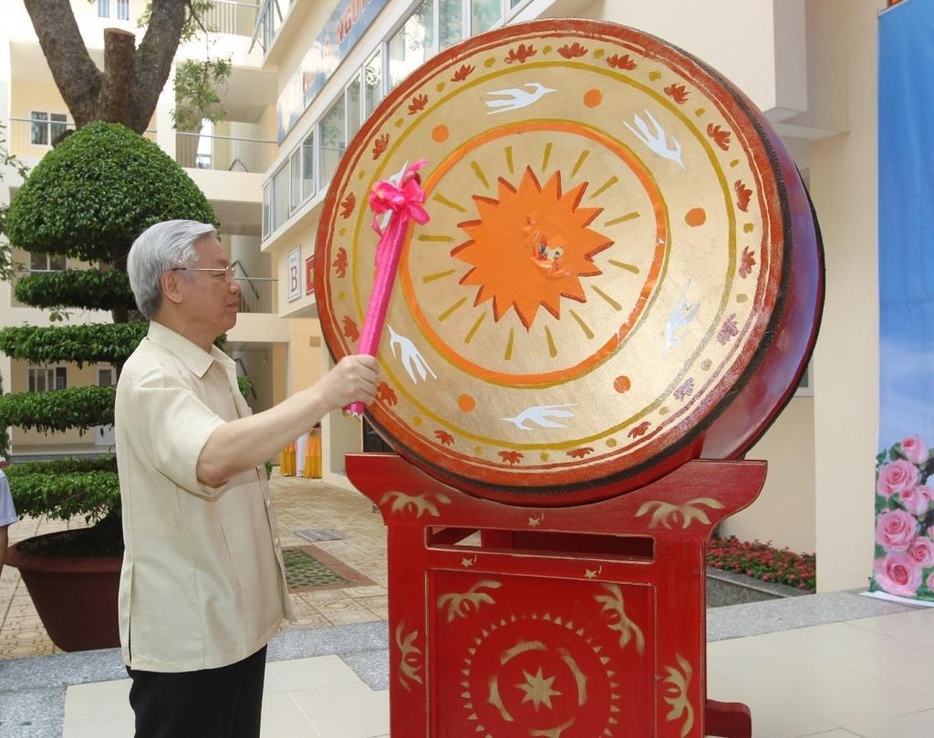 Tổng Bí thư, Chủ tịch nước Nguyễn Phú Trọng gửi thư chúc Tết Trung thu các cháu thiếu niên, nhi đồng