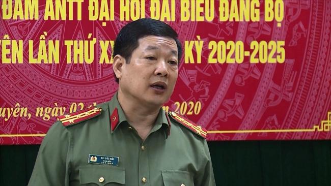 Bảo vệ an toàn tuyệt đối Đại hội đại biểu Đảng bộ tỉnh Thái Nguyên lần thứ XX