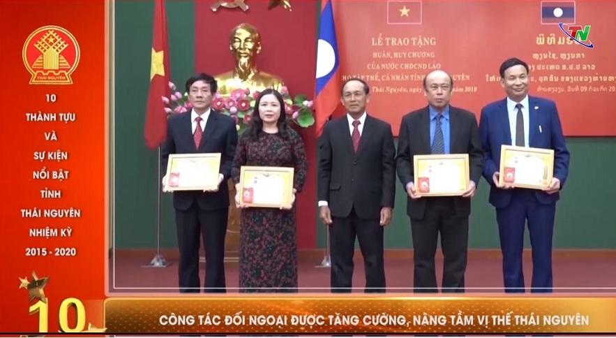 10 thành tựu và sự kiện nổi bật tỉnh Thái Nguyên nhiệm kỳ 2015 2020