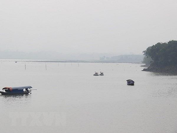 Vận hành điều tiết nước qua tràn xả lũ đảm bảo an toàn công trình Hồ Núi Cốc