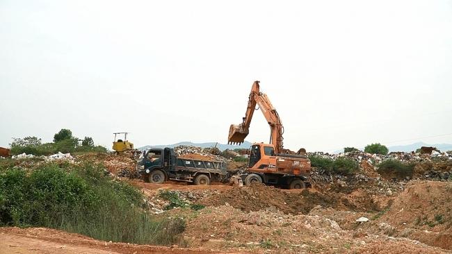 Thành phố Sông Công khó khăn trong xử lý rác thải sinh hoạt