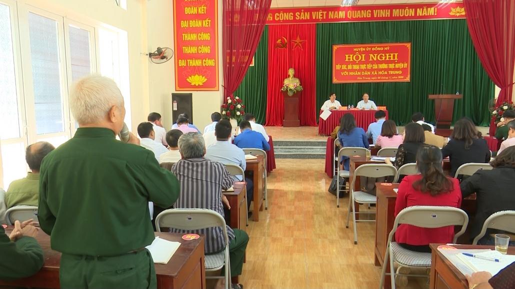 Huyện Đồng Hỷ: đối thoại trực tiếp thường kỳ với nhân dân