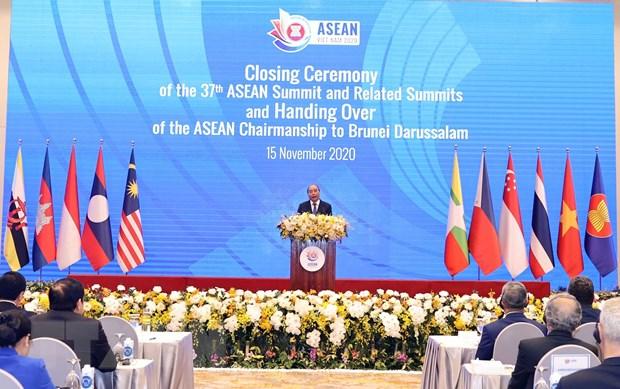 Be mac Hoi nghi Cap cao ASEAN lan thu 37 va cac Cap cao lien quan hinh anh 1