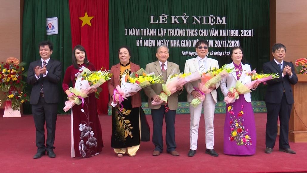 Trường THCS Chu Văn An kỷ niệm 30 năm thành lập trường