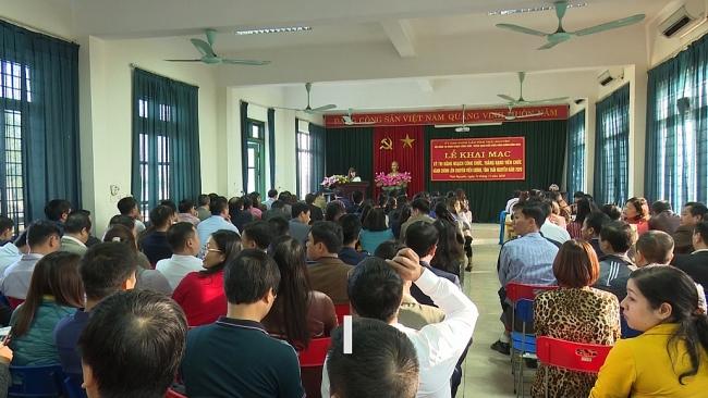 Khai mạc kỳ thi nâng ngạch công chức