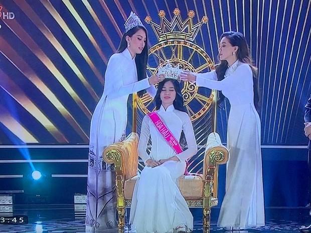 Nhan sắc đến từ Thanh Hóa đăng quang Hoa hậu Việt Nam năm 2020