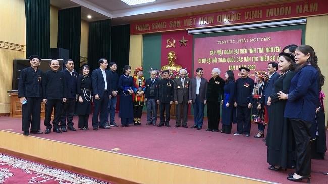 Gặp mặt đại biểu toàn quốc các dân tộc thiểu số Việt Nam lần thứ II, năm 2020