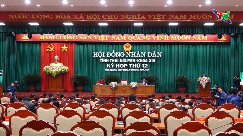 Ngày làm việc thứ nhất, Kỳ họp thứ 12, HĐND tỉnh Thái Nguyên, Khóa XIII, Nhiệm kỳ 2016-2021