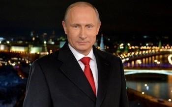 Tổng thống Putin chúc người dân Nga năm mới thành công và thịnh vượng