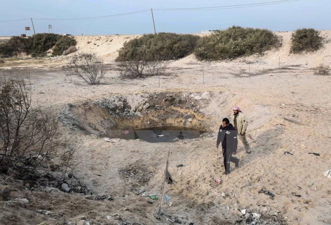 israel tan cong tra dua vu phong rocket cua hamas o dai gaza