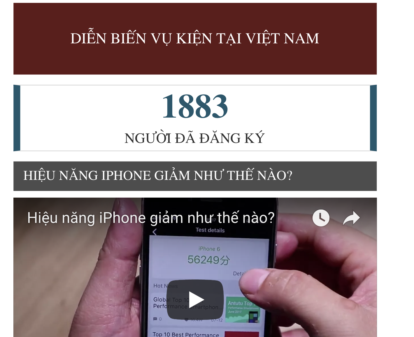 hon 1800 nguoi viet khoi kien apple doi co trach nhiem voi iphone cu