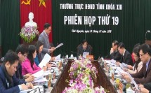 phien hop thu 19 hdnd tinh thai nguyen khoa xiii