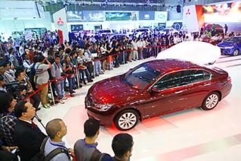 Chi 165 triệu USD nhập khẩu ôtô trong tháng đầu tiên năm 2017