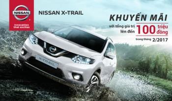 nissan giam toi 100 trieu dong cho khach hang mua xe x trail