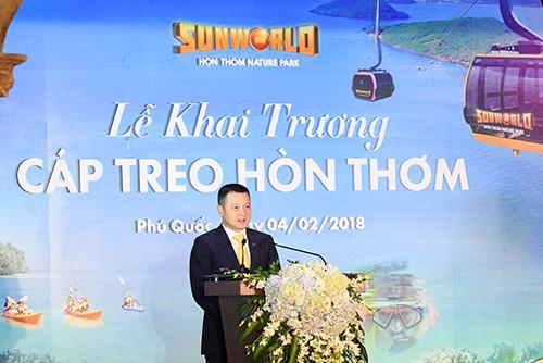 phu quoc khai truong cap treo hon thom dai nhat the gioi