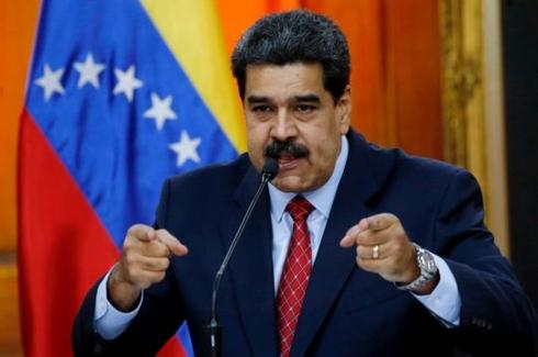 tong thong maduro no luc thao go ngoi no cang thang o venezuela