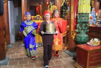 Kiểm tra thông tin việc phát ấn tại đền thờ Trần Hưng Đạo ở Thanh Hóa
