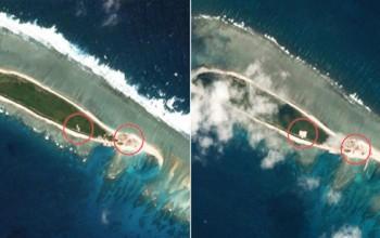 Australia phản ứng trước việc Trung Quốc xây mới trái phép ở Biển Đông