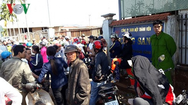 hang tram nguoi dieu dung vi doanh nghiep nong san vo no