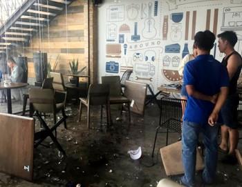Hơn 10 người hỗn chiến tại quán cà phê ở Sài Gòn