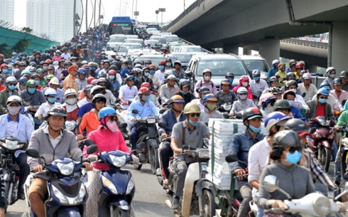 Cấm xe máy vào nội đô TP.HCM năm 2030: Cần phải điều tra xã hội học