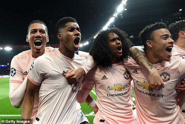 PSG 1-3 Man Utd: Chiến thắng đi vào lịch sử