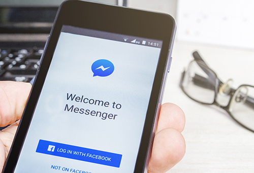facebook messenger dinh lo hong lam lo danh ba