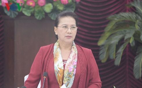Chủ tịch Quốc hội làm việc với lãnh đạo tỉnh Bình Thuận