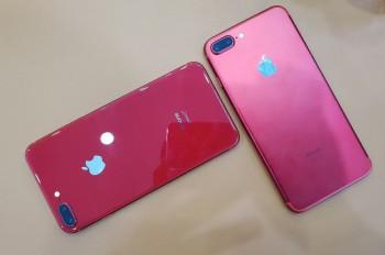iphone 8 plus mau do giam 7 trieu dong khach van khong quan tam