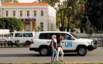 Nhân viên an ninh của Liên Hợp Quốc bị tấn công tại Douma (Syria)