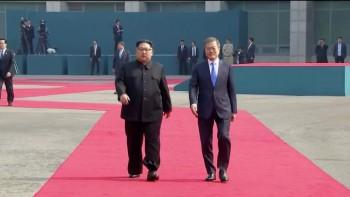 Tổng thống Hàn Quốc và nhà lãnh đạo Triều Tiên lần đầu gặp mặt