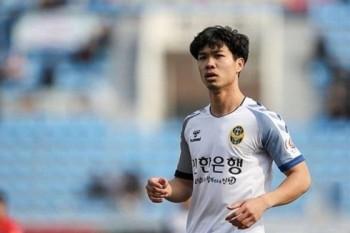 Công Phượng gặp khó trong lần đầu đá chính tại Incheon United
