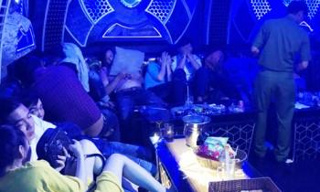Gần 100 người chơi ma túy trong quán karaoke lớn nhất Cà Mau