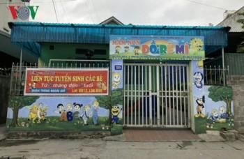 Quảng Ninh đình chỉ cơ sở giáo dục mầm non có dấu hiệu bạo hành trẻ em