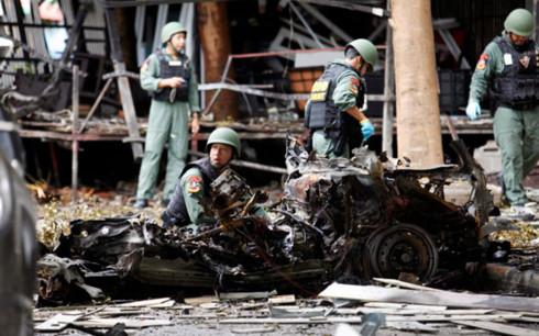Cảnh sát Thái Lan xác định 4 kẻ đánh bom ở Pattani