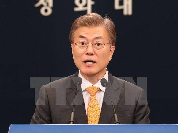 ty le ung ho tong thong han quoc moon jae in vuot nguong 80