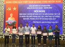 dang uy dai pt th thai nguyen sinh hoat chuyen de hoc tap lam theo tu tuong dao duc phong cach ho chi minh nam 2017