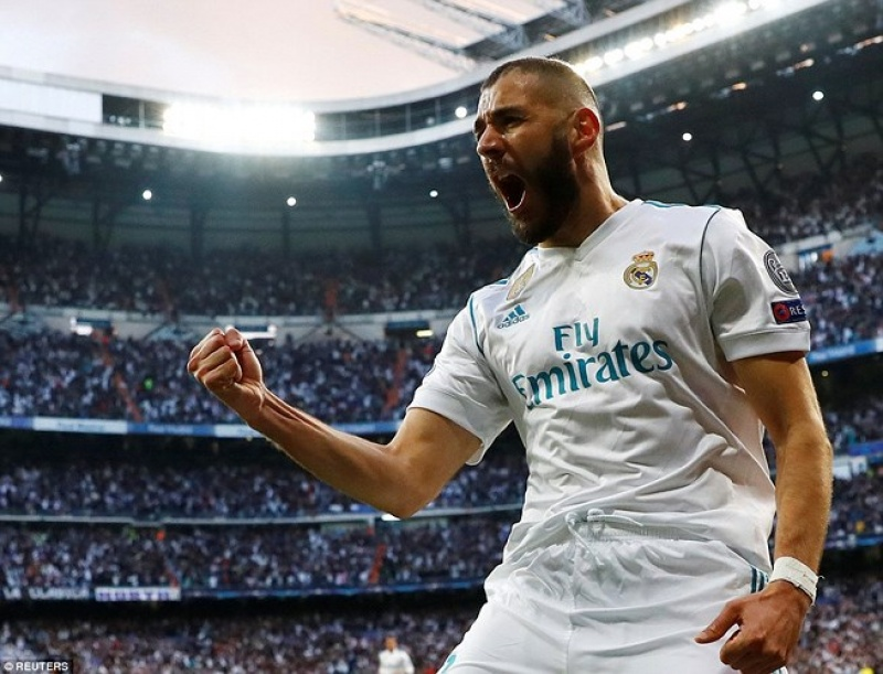 benzema ghi cu dup real vao chung ket champions league 20172018