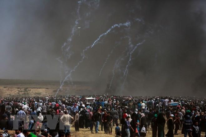 iran doi xet xu lanh dao israel vi tan sat dam mau nguoi palestine