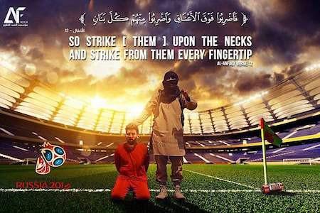 is gui thong diep de doa messi va cronaldo truoc them world cup 2018