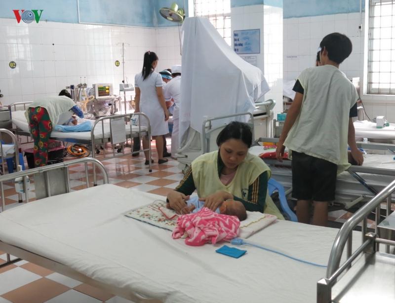 Dịch sốt xuất huyết diễn biến phức tạp ở Bình Định
