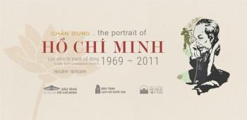Trưng bày 60 tác phẩm tranh cổ động về chân dung Chủ tịch Hồ Chí Minh