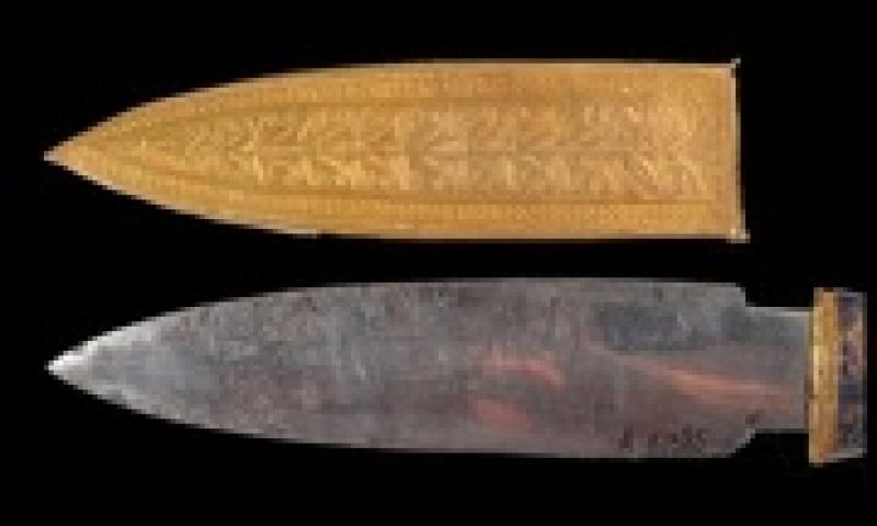 luoi dao gam khong gi sau 3000 nam trong mo vua tutankhamun