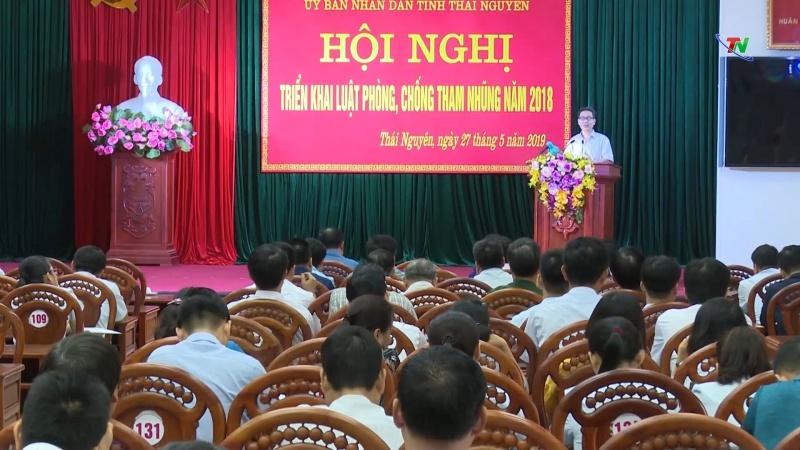 Thái Nguyên - Triển khai Luật Phòng, chống tham nhũng năm 2018