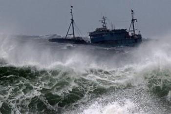 Bão số 1 gây gió giật mạnh trên quần đảo Trường Sa