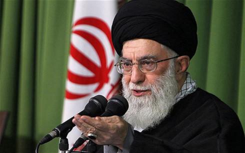 dai giao chu iran khamenei my va saudi arabia ho tro is