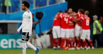 Mohamed Salah sớm chia tay World Cup 2018